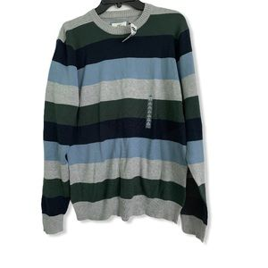 Old Navy NWT Striped cotton sweater size medium